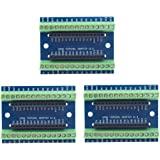 HiLetgo 3pcs Arduino Nano V3.0 3.0 Controller Terminal Adapter Expansion Board Nano IO Shield Simple Extension Plate for Ardu