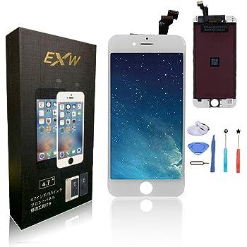 HYS-TECH For 4.7インチiPhone 6 液晶スクリーン交換 液晶パネルセット 交換修理用フロントガラス デジタイザ 修理工具付属 (6 ホワイト) [並行輸入品]