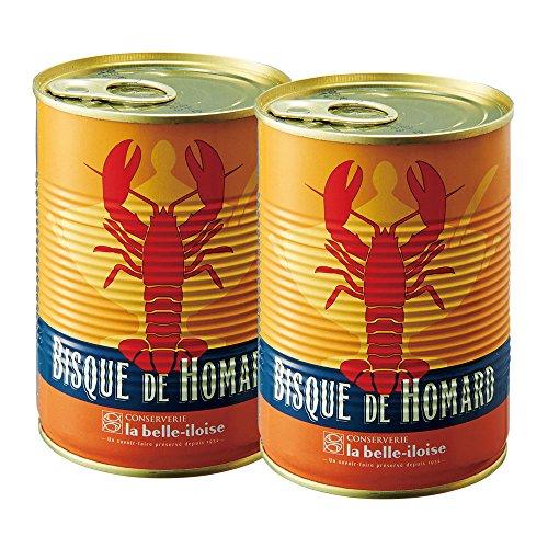 フランスお土産 ブルターニュ産 オマールエビのビスク 2缶セット