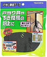 槌屋 戸当り静音テープ ブラック 幅15X高さ3mmX長さ4m SPE-002