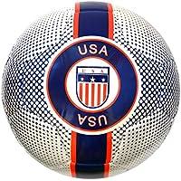 Vizari USAサッカーボール91843サイズホワイト、4