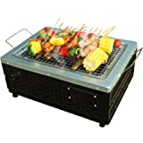 SetPower Portable Charcoal Grill Table Grill Outdoor Courtyard Picnic Roast Meat Home BBQ Folding Charcoal Camping Barbecue O