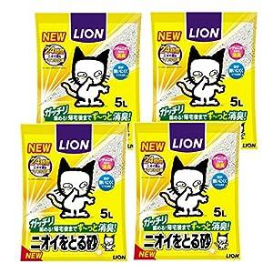 ニオイをとる砂 ニオイをとる砂 5L×4袋 (ケース販売)