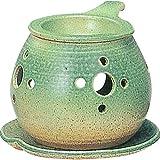 茶香炉 : 常滑焼 間宮 茶香炉・ ル35-02