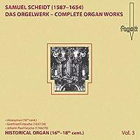 Scheidt,Samuel - Scheidt Organ Works Vol.3 (1 CD)