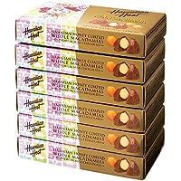 ハワイ 土産 ベル ハワイアンハニー マカデミアナッツチョコレート 6箱セット (海外旅行 ハワイ お土産)