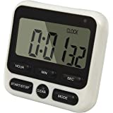 QUMOX Large LCD Digital Kitchen Timer Countdown Up Alarm Clock 24 Hours Magnetic HX106