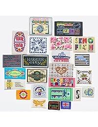 ポップタグ福袋 ハンドメイド用 24~25枚 刺繍タグ (5789-2)