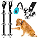 2 Pack Dog Doorbells Premium Quality Training Potty Great Dog Bells Adjustable Door Bell Dog Bells for Potty Training Your Pu
