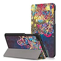 Lenovo Tab 7 Essential 2017 Case, VMAE Ultra Slim Lightweight PU Leather Folio Stand Case for Lenovo Tab 7 Essential 7 inch TB-7304F/X 2017 Release - MagicTree