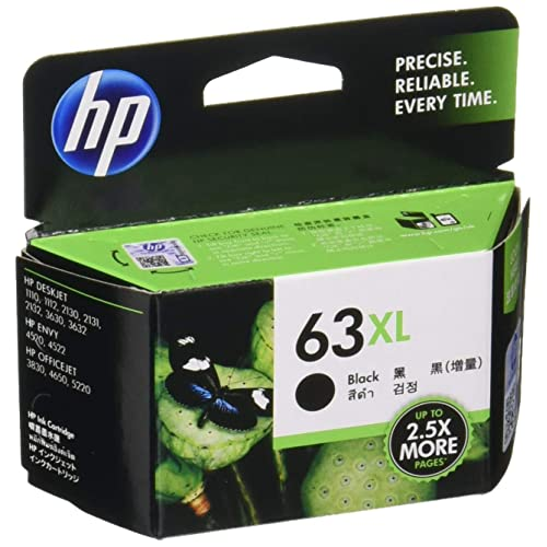 Stationery HP 63 ink cartridges black color (63XL) Japan ...
