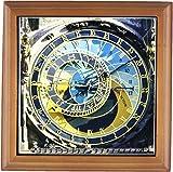 Danita Delimont–クロックタワー–天文時計、Orloj、プラハ、チェコ共和国–eu06tha0021–Tom Haseltine–フレーム付きタイル 8x8 Framed Tile ft_81259_1