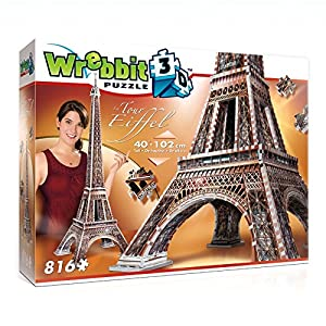 レビット クラシックコレクション-エッフェル塔 正規品 【立体 趣味】 Wrebbit The Classics-La Tour Eiffel W3D-2009