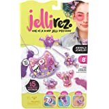 Jelli Rez Animals Jewelry Pack - Quick & Easy DIY Resin Inspired Craft Activity Kit for Kids Ages 7 & Up