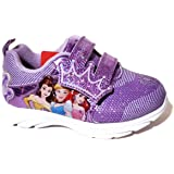 Disney Princess Lighted Athletic Sneaker, Size