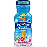 Pediasure Base Grow & Gain Kids' Nutritional Shake, With Protein, Dha, & Vitamins & Minerals, Berry, 8 Fl Oz, 24 Count