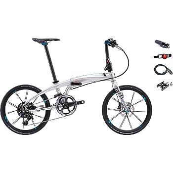 2017年モデル Tern【ターン】 Verge X11 20インチ折り畳み自転車 +フロントライト、テールライト、ロングワイヤー錠、着脱ペダル