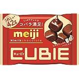明治 明治ハイミルクチョコレートCUBIE 42g×10袋