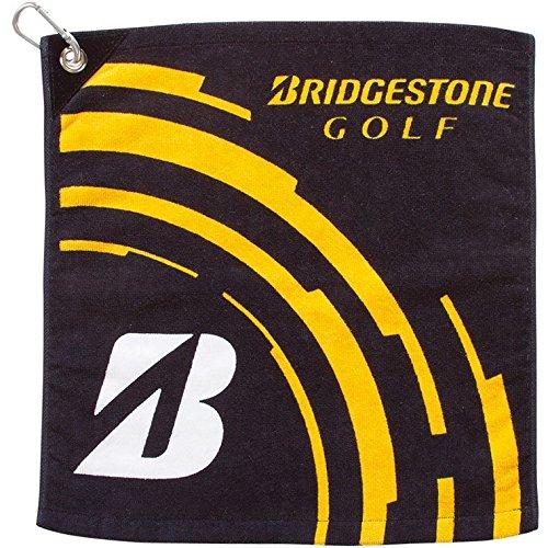 BRIDGESTONE(ブリヂストン) フック付ハンドタオル TWG41 BK(黒)