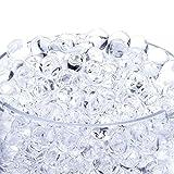 ILOVEDIY 水でふくらむ ぷよぷよボール ビーズ - 250g 約20,000粒 (透明な)
