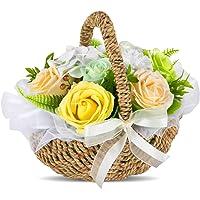 フラワー ローズバスケット 枯れない花 インテリア ギフト 女性 女友達 彼女 母 プレゼントとして 大切な人へ感謝の気…