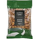 Genoa Foods Almonds Natural, 350 Grams
