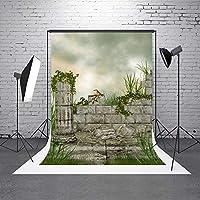 vprineファブリック背景、Remainsの城写真背景の個人写真–5x 7フィート(1.5X 2.2M)
