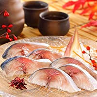 ディメール 鮨屋のしめ鯖 半身1枚約150g(米酢で浅〆めした生のお刺身に近い無添加しめさば) (単品購入)
