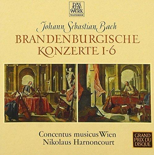 J.S.バッハ:ブランデンブルク協奏曲 全曲(1964年録音)の詳細を見る