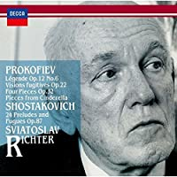 Prokofiev: Visions Fugitives by Sviatoslav Richter (2015-03-18)