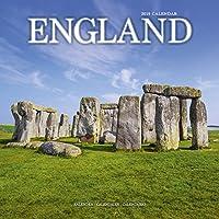 England Calendar 2019 (Square Regional)