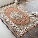 サヤンサヤン ORIENTAL STYLE(オリエンタルスタイル)Ⅰ ウィルトン織り ラグマット ローズ 90x150cm