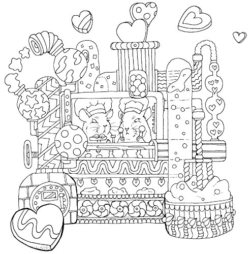 物語のある美しい塗り絵 ロマンチック・ジャーニー (大人の塗り絵)
