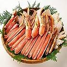 【今日だけ】生ズワイガニ バルダイ種 カット済み 冷凍 加熱用 3kg (1kgx3P) 焼き蟹 カニ鍋 かにしゃぶに ギフトが激安特価!