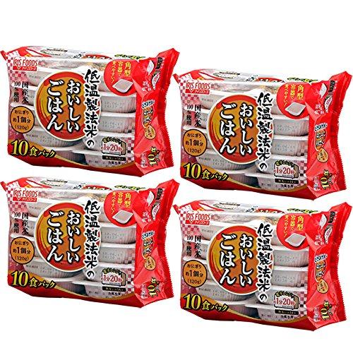 低温製法米のおいしいごはん 120g×40食パック...