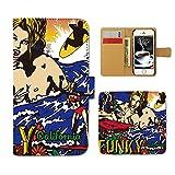 (ティアラ)Tiara GALAXY S9 SC-02K スマホケース 手帳型 サーフ 手帳ケース カバー サーフィン ボード SURF 海 E0169010101701