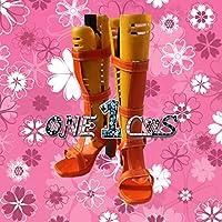 【サイズ選択可】コスプレ靴 ブーツ 12L1364 ONE PIECE ワンピース ナミ 女性23CM