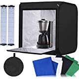 Abeststudio Photography Photo Studio Light Box Tent Softbox 40 * 40 * 40cm 40W LED Cube Tabletop Light Shooting Tent Kit with