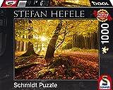 1000ピース ジグソーパズル Schmidt-Spiele 素晴らしい秋 Hefele: Magical autumn 49.3×69.3cm 59384