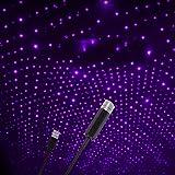Star Projector Night Light, Adjustable Romantic Galaxy Flexible Interior Car Lights, Portable Night Lamp Decorations for Car,
