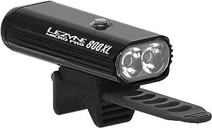 レザイン (LEZYNE) MICRO DRIVE PRO 800XL 2LED フロントライト 1-LED-2SF (ブラック)