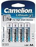 Camelion 単3形リチウム電池 4本パック FR6-BP4