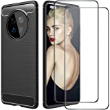biteri Mate 40 Pro Case Compatible for Huawei Mate 40 Pro Case with Screen Protector Silicone Cover for Mate 40 Pro Case Ultr