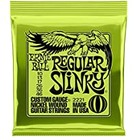 【正規品】 ERNIE BALL 2221 ギター弦 (10-46) REGULAR SLINKY レギュラー・スリンキー