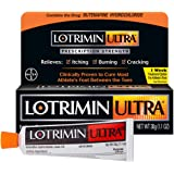 Lotrimin Ultra 1 Week Athlete's Foot Treatment, Prescription Strength Butenafine Hydrochloride 1%, Cures Most Athlete's Foot