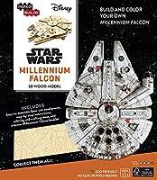 IncrediBuilds: Star Wars: Millennium Falcon 3D Wood Model