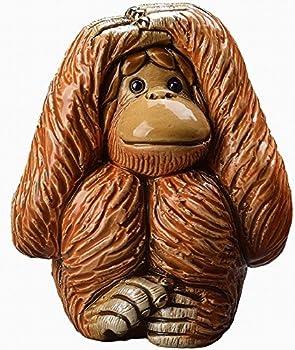 【聞かざるオランウータンF203E】 猿 さる サル 干支 十二支 申