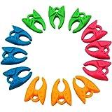 (12 Pieces) - YEQIN Bobbin Holder /Clamp Thread Control Clamp Organiser Holder (12 Pieces)