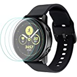 Tersely Full Cover Screen Protector for Samsung Galaxy Active 2 Watch (40MM), [3 Pack] HYDROGEL Full Coverage Screen Protecto