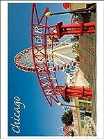 シカゴ、イリノイ州–Navy Pier ( Playingカードデッキ–52カードPokerサイズwithジョーカー)